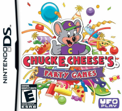 Chuck E Cheese's Party Games - Nintendo DS, Acceptable Nintendo DS, Nintendo DS