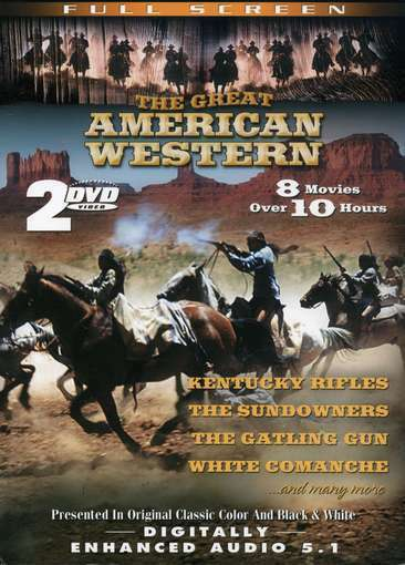 The Great American Western, Vol. 12 & 20, Good DVD, ,