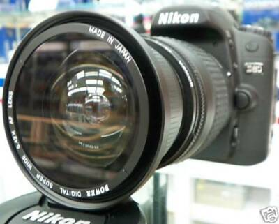 Wide-Angle Macro Fisheye lens for NIKON d5100 d5000 d3100 d3200 as 50/35mm nib