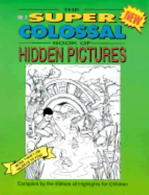 The Super Colossal Book Of Hidden Pictures, , Good, Books