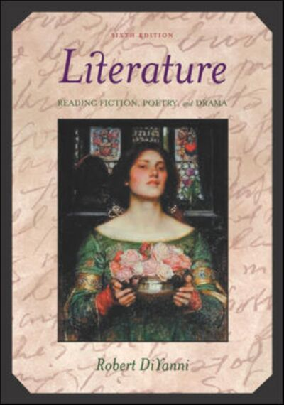 Literature - Reading, Fiction, Poetry and Drama, Robert DiYanni, Good Book
