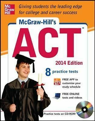 McGraw-Hill's ACT 2014 with CD-ROM (McGraw-Hill's ACT (W/CD)), Dulan, Steven, Go