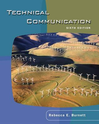 Technical Communication by Burnett, E.