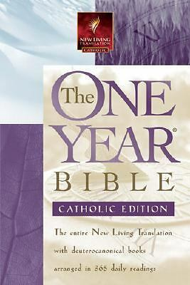 The One Year Bible NLT, Catholic Edition, , Good Book
