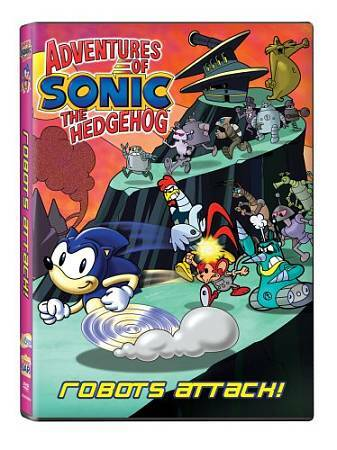 Adventures Of Sonic The Hedgehog: Robots Attack!, Good DVD, Sonic The Hedgehog,