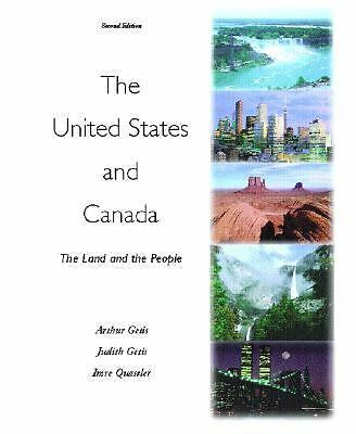 The United States and Canada: The Land and the People, Quastler,Imre, Getis,Judi
