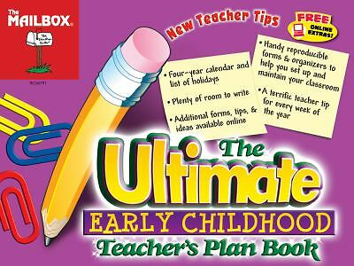The Ultimate Teacher's Planbook, The Mailbox Books Staff, Good Book