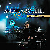 Vivere Live in Tuscany [CD/DVD] by Andrea Bocelli