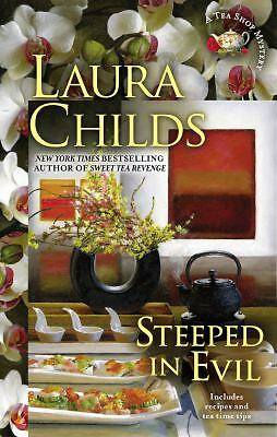 Steeped in Evil (A Tea Shop Mystery), Childs, Laura, Good Book