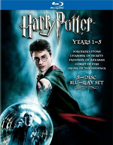Harry Potter Years 1-5 [Blu-ray], Very Good DVD, Fiona Shaw, Saunders Triplets,