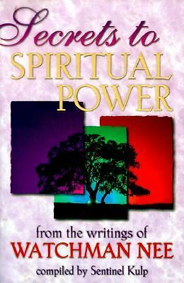 Secrets to Spiritual Power, Kulp, Sentinel, Nee, Watchman, Acceptable Book
