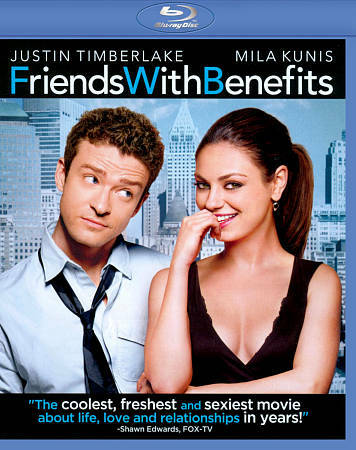 Friends With Benefits (Blu-ray), Good DVD, ,
