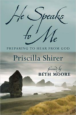 He Speaks To Me, Shirer Priscilla, Very Good Book