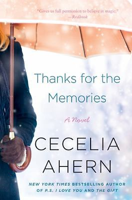 Thanks for the Memories: A Novel, Ahern, Cecelia, Good Book