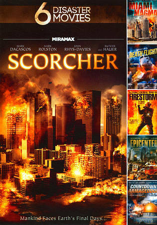 6 Disaster Movies SCORCHER, Good DVD, ,