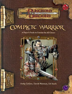 Complete Warrior (Dungeons & Dragons d20 3.5 Fantasy Roleplaying), Andy Collins,