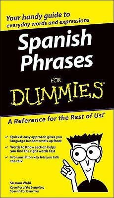 Spanish Phrases For Dummies, , Good Book