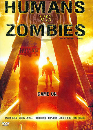 Humans Vs. Zombies [DVD & Comic Book Insert], Good DVD, Christine Quinn, Rheagan