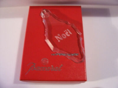 VERY RARE NEW in BOX BACCARAT Crystal NOEL Ornament  FREE USA Shipping