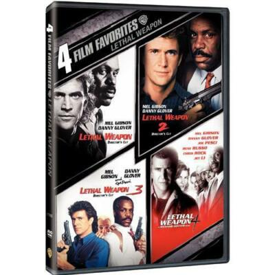 4 Film Favorites: Lethal Weapon (Lethal Weapon: Director's Cut, Lethal Weapon 2: