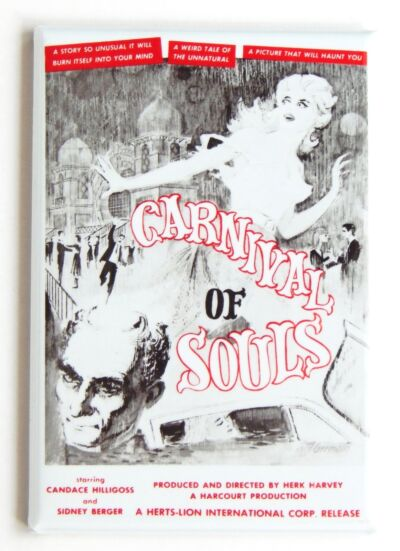 Carnival of Souls FRIDGE MAGNET movie poster horror