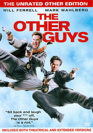 The Other Guys (The Unrated Other Edition), Good DVD, Mark Wahlberg, Will Ferrel