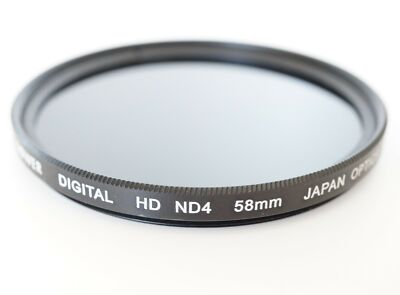 ND4 Neutral Density HD Digital Filter Lens for Canon Eos Rebel SL1 T5i t4i t3i 2