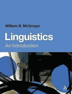 Linguistics: An Introduction, McGregor, William B., Good Book