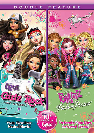 Bratz: Girlz Really Rock & Fashion Pixies, Good DVD, ,