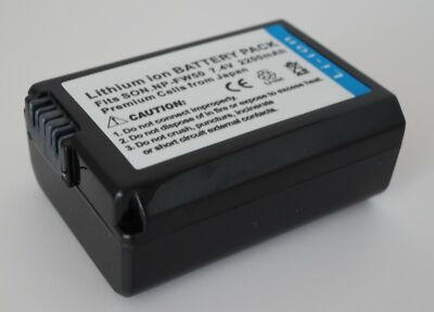 NP-FW50 Battery For Sony a3000 NEX 6 5 3  3n 5n 3n 5r Alpha A33 A35 A37 A55 7