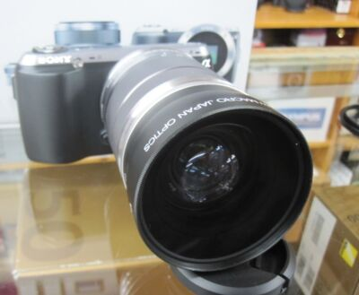 Wide Angle Lens for Sony NEX-F3 RX1 Alpha NEX-5R NEX-7 NEX-6 NEX-C3 NEX5 New