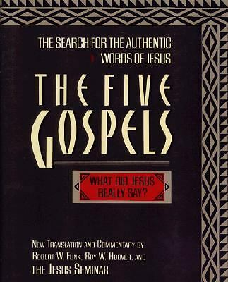 The Five Gospels, Funk, Robert W., Good, Books