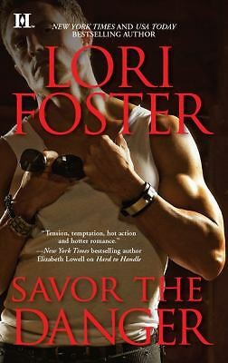 Savor the Danger (Edge of Honor), Foster, Lori, Acceptable Book