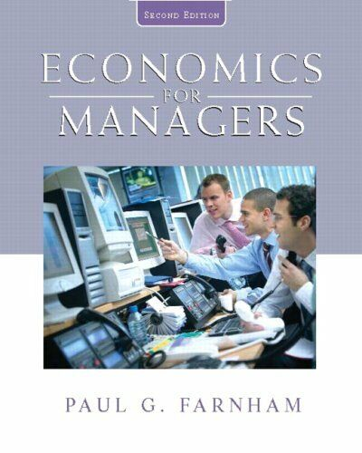 Economics for Managers (2nd Edition), Farnham, Paul G., Good, Books