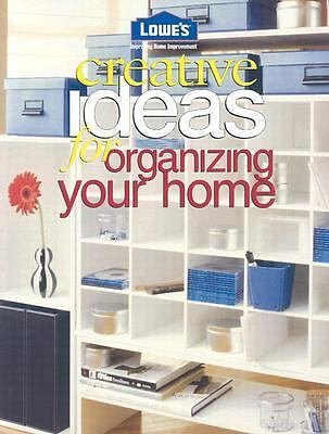 Creative Ideas For Organizing Your Home (Creative Ideas), , Good Book
