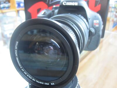 Wide Angle Fisheye Macro lens for Canon EOS Rebel t5i T3i T2i 1100d HD free sh