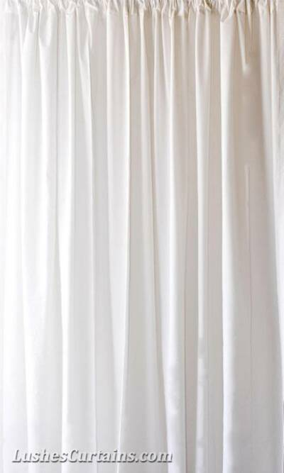 Custom 11 ft H White Velvet Curtain Long Panel Special Event Wedding Party Decor