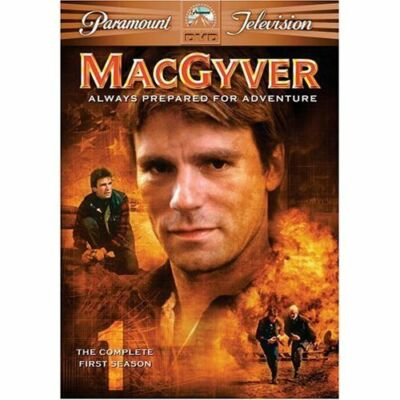 MacGyver - The Complete First Season, Good DVD, Richard Dean Anderson, Cooper Hu