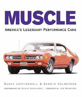 Muscle: America's Legendary Performance Cars, Darwin Holmstrom, Acceptable Book