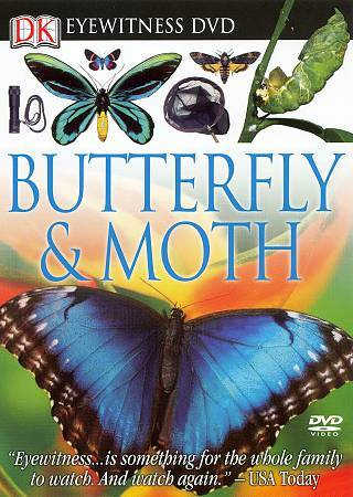 Eyewitness: Butterfly and Moth, Good DVD, ,