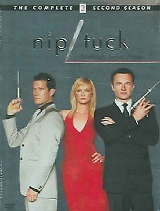 Nip/Tuck - The Complete Second Season, Good DVD, Dylan Walsh, Julian McMahon,