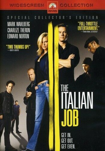 The Italian Job (Special Collector's Edition), Good DVD, Mark Wahlberg, Charlize