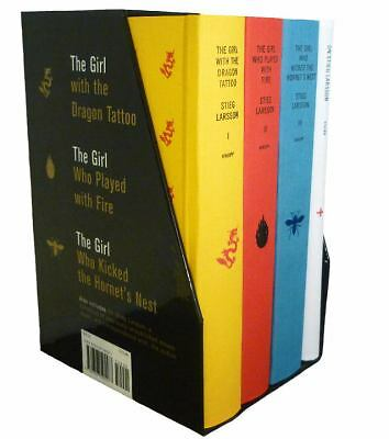 Stieg Larsson's Millennium Trilogy Deluxe Boxed Set: The Girl with the Dragon Ta