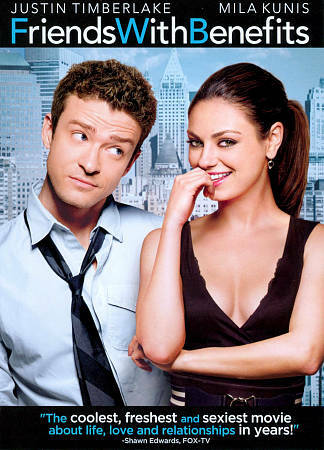 Friends with Benefits, Good DVD, Mila Kunis, Justin Timberlake, Will Gluck