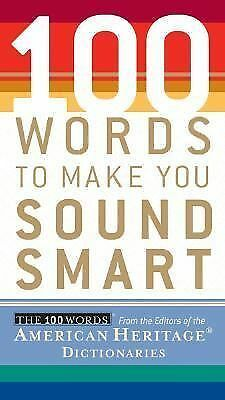 100 Words To Make You Sound Smart, , Good Book