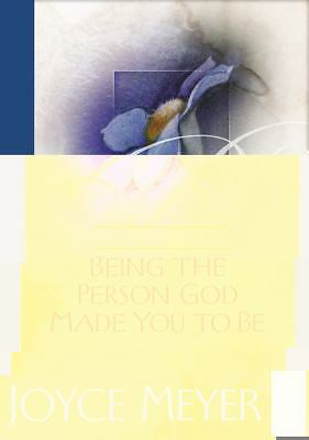 Being the Person God Made You to Be, Joyce Meyer, Good Book