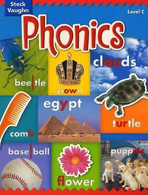 Steck-Vaughn Phonics: Student Edition Level C, STECK-VAUGHN, Good, Books