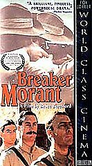 Breaker Morant [VHS] by Edward Woodward, Jack Thompson, John Waters, Bryan Brow