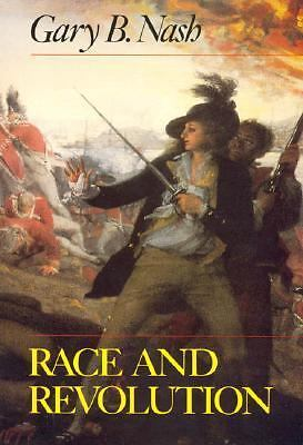 Race and Revolution, Gary B. Nash, Acceptable Book