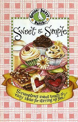 Sweet & Simple Cookbook (Everyday Cookbook Collection), Gooseberry Patch, Good,